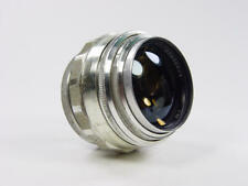 Extremely rare silver 85mm f/2 JUPITER-9 Zenit M39 M42  s/n 6604397