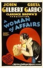 OLD MOVIE PHOTO Woman Of Affairs Poster Greta Garbo John Gilbert 1928