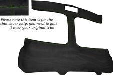 Verde Stitch T Bar Targa T Top Alcantara Skin Tapa se ajusta Toyota Mr2 Mk2 89-00