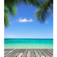 3x5Ft Beach Sea Studio Photography Background Photo Backdrop Props Summer