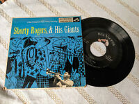 Shorty Rogers & His Giants 45 EP S/T Self-Titled RCA Victor EPA-609 PS