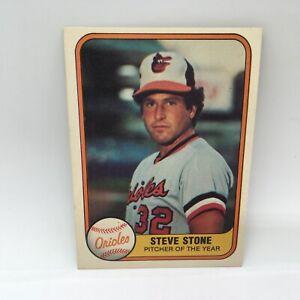 1981 Fleer Steve Stone #170