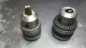 R2 2 Rohm Drill Chuck 1/32 - 3/8 Capacity and second chuck