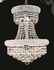 World Crystal Limited Edition Bangle 9 Light Crystal Chandeliers Light Chrome