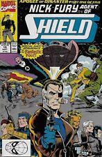 Nick Fury, Agent of Shield No.16 1990 Fantastic Four D.G. Chichester Bill Jaaska