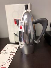 Giannini Chicca 6/3 Cup Stovetop Espresso Pot BNIB Black Handle