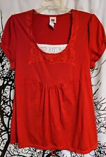 Faded Glory brand Red Top women's plus size 1X