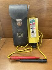 Ideal Voltage Tester 61 065 With Leather Pouch Electrician Tool