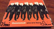 THENEWNO2 DHANI HARRISON OLIVER HECKS SIGNED YOU ARE HERE CD GEORGE THE BEATLES
