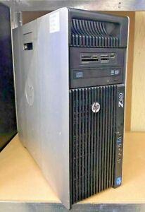 HP Z620 - E5-1620@3.60GHz  32GB DDR3, 2X1TB - GTX760 - (F01/1)