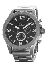 Fossil Men's Nate Chronograph Stainless Steel Watch JR1468