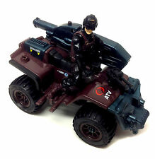 GI JOE Action Force COBRA ATV with RIDER  toy for 3.75 inch figures NICE