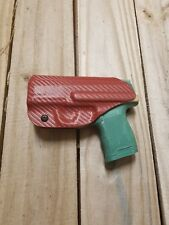 Sig Sauer P365 Concealment IWB Blood Red Carbon Fiber KYDEX Holster Right Hand