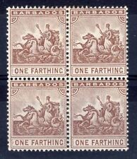 British Colony Stamp Blocks