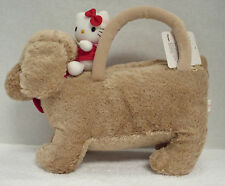 Hello Kitty With Plush Dog Carry Along - New