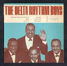 """THE DELTA RHYTHM BOYS magnifique EP groupe anglo """"Well alright"""""""
