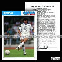 CARRASCO FRANCISCO (FC SOCHAUX) - Fiche Football 1989