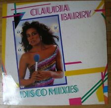 CLAUDJA BARRY Disco Mixes LP/GER