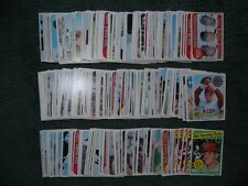 1969 TOPPS BASEBALL PARTIAL SET LOT-237 Diff. w/STARS, ROOKIES, HIGH NUMBERS, EX
