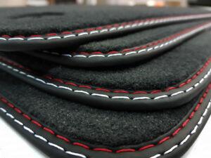 Fußmatten Set für Ford S-Max WA6 beste Qualität Velours  100% Polyamid