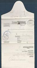 France correspondance des prisonniers de guerre en Allemagne  Stalag  29 1941