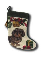 Dachshund Wiener Dog Stocking Christmas Animal Seasonal puppy Sk-906S Home Decor