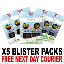 Frozen Fish Food 100g BCUK Blister packs Daphnia x5