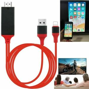 Phone HDTV Cable AV Audio Video Adapter Converter For IOS Phone Charger