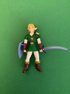 Vintage Legend of Zelda Ocarina of Time LINK Action FIGURE 1998