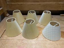 Jim Lawrence lamp shades - set of six with pattern mint condition