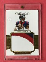 2017 Panini Flawless Deshaun Watson 3 Color Rookie Patch RC #10/25 Non Auto🔥