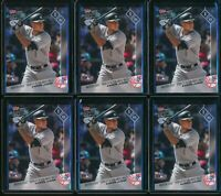2017 Topps Now Aaron Judge RC #OS-33 6 Card Lot AL Rookie of the Year Finalist