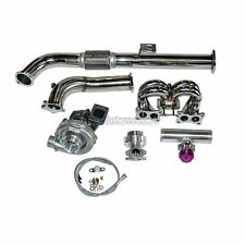 Turbo Manifold Kit For 89 90 Nissan S13 240SX with Stock KA24E SOHC Engine