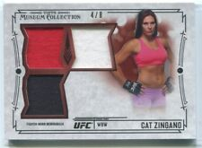 2015 Topps UFC Museum Significant Swatches Ruby CZ Cat Zingano Triple Relic 4/8
