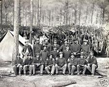 NEW Civil War Photo Company C, U.S. Engineers in front of Petersburg, VA 1864