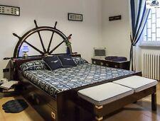 Occasione del mese in SOTTOCOSTO nuovo letto matrimoniale stile marina