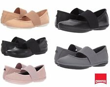 NEW Women's CAMPER Right Nina Mary Jane Ballet Leather Flats Slip On Shoes