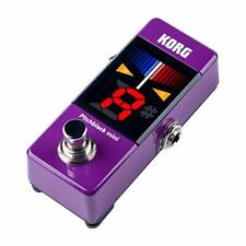 KORG PB-MINI PU pitchblack mini Pedal Tuner Limited Color Purple w/ Tracking NEW