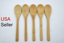 5 Piece Bamboo Utensil Kitchen Wooden Spoon Kitchen Tool ( USA Seller )