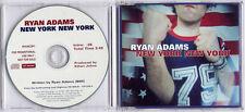 RYAN ADAMS New York New York 2001 UK 1-track promo CD