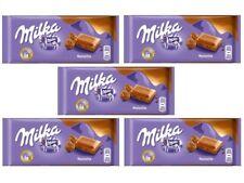 5 bars of Milka Noisette chocolate - 5x100g (17oz)
