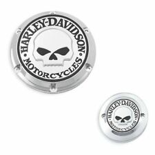 Harley willie G OEM skull derby and timer cover sportster xl 883 1200  2004+