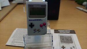 Nintendo Game Boy Watch Digital Gameboy Wristwatch Retro