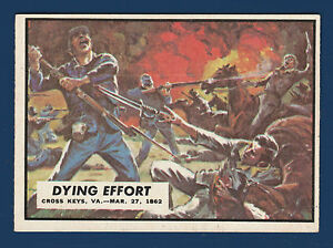 DYING EFFORT 1962 CIVIL WAR NEWS NO 13 EXMINT+