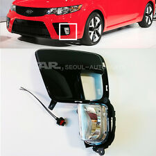 KIA 09-13 Forte Koup Fog Lamp Assy + Cover+ Connector Left Side  OEM 92201-1M300