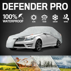 Full Car Cover for Dodge Colt Motor Trend Waterproof All Season Dirt Protection