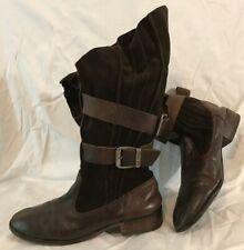 Alberto Fermani mid mid mid calf leather Stiefel, cowboy, UK