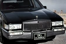 1990-1992 Cadillac Deville Rwd H/P Vertical Grille - Silver - E&G 1986-0100-90R