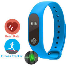 Sports Smartband Fitness Tracke Heart Rate Monitor Bluetooth Vibrating Bracelet