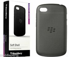 Original Blackberry Negra Soft Shell Funda protectora para Q10-acc-50724-201